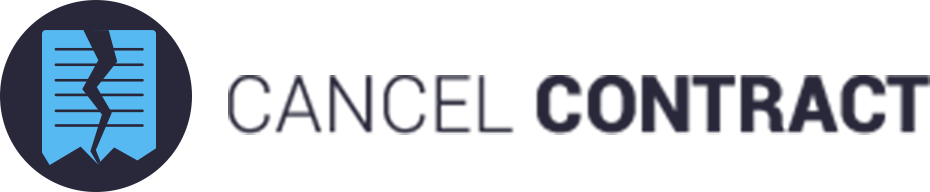 Logo Cancel Contract